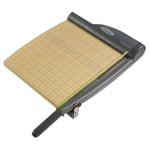 "Swingline® ClassicCut Pro Paper Trimmer, 15 Sheets, Metal/Wood Composite Base, 12"" x 12"" - image 1 of 4"