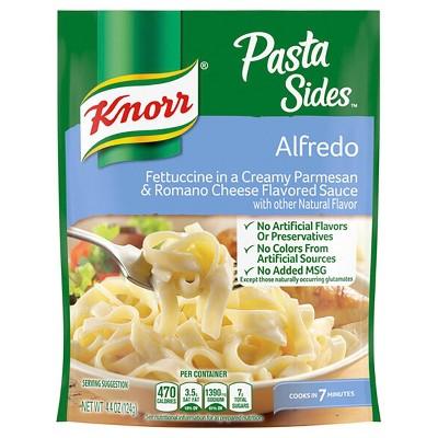 Knorr Pasta Sides Pasta Side Dish Alfredo - 4.4oz