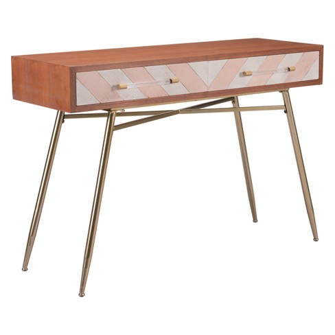 47 Modern Console Table Brown Zm Home Target