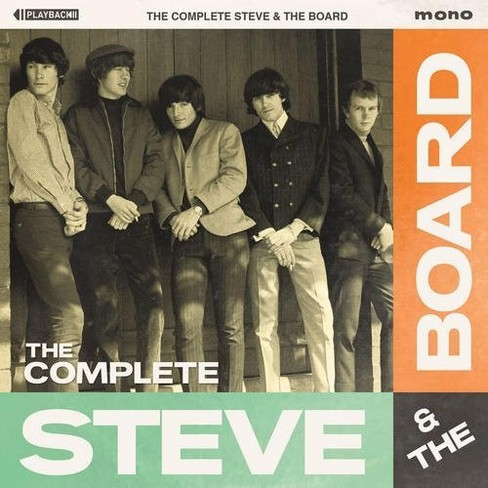 Steve & The Board - Complete Steve & The Board (CD) - image 1 of 1