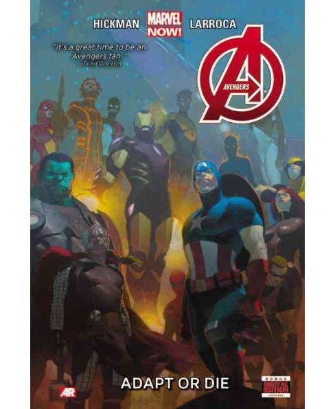 Avengers 5 : Adapt or Die: Bonus Digital Edition Included (Hardcover) (Jonathan Hickman) - image 1 of 1