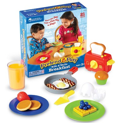 Learning Resources Rise and Shine Breakfast - Play Set