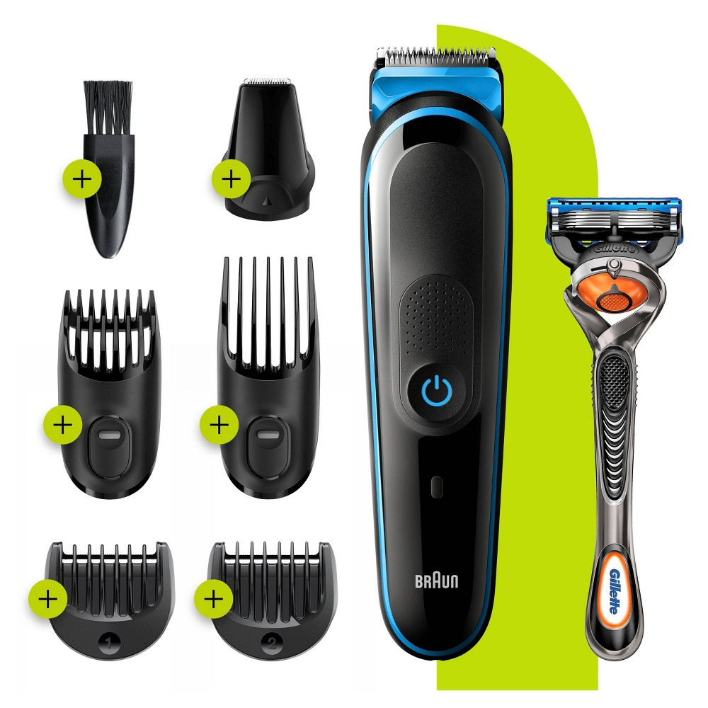 Image of Braun 7-in-1 Men's Rechargeable Electric Precision Trimmer MGK5245