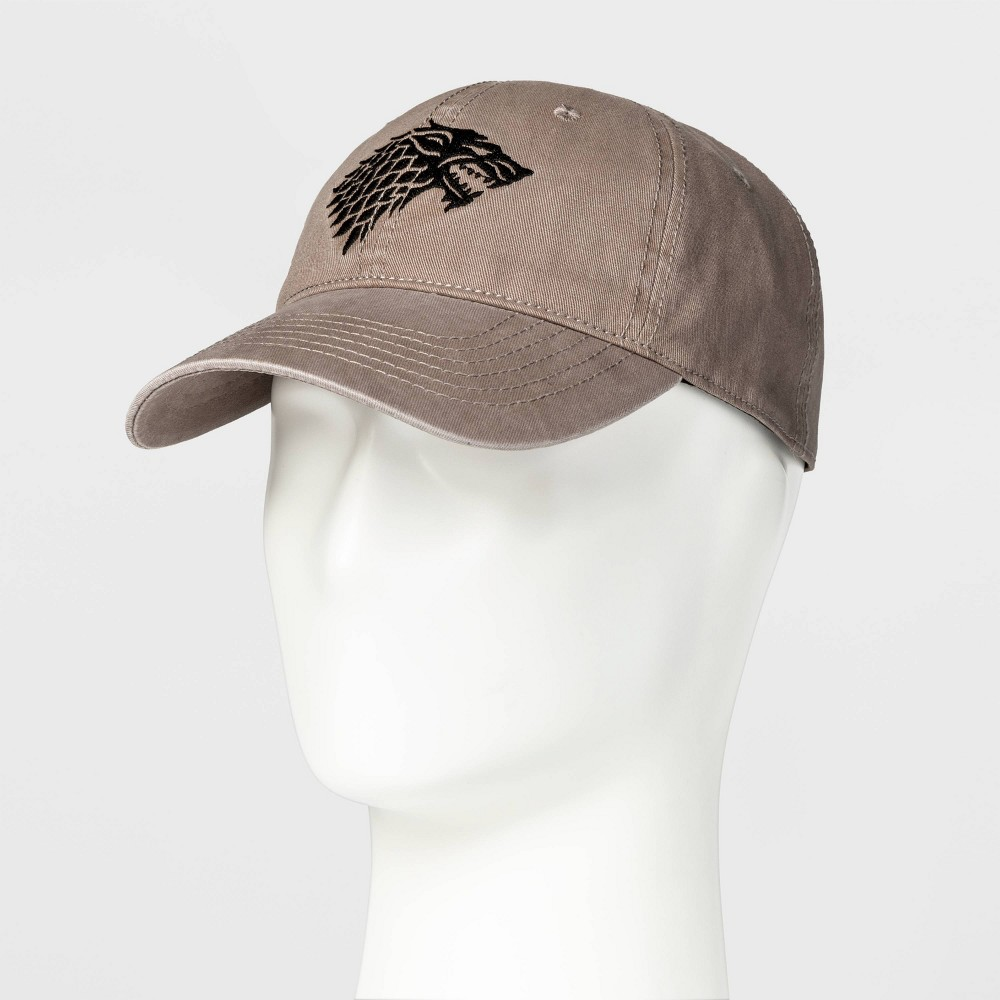 Image of Game of Thrones House Stark Baseball Cap - Grey