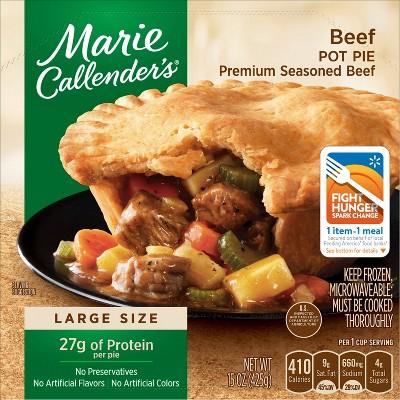 Marie Callender's Frozen Beef Pot Pie - 15oz