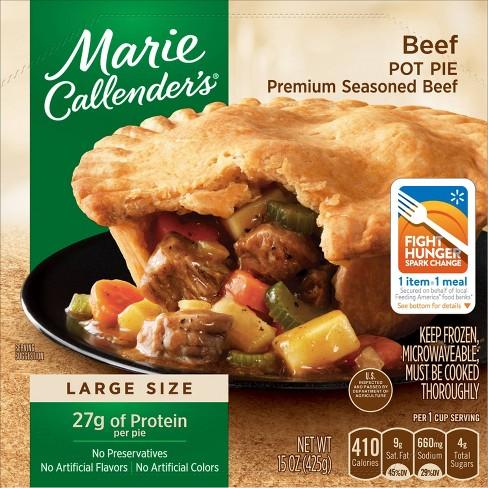 Marie Callender's Frozen Beef Pot Pie - 15oz - image 1 of 3