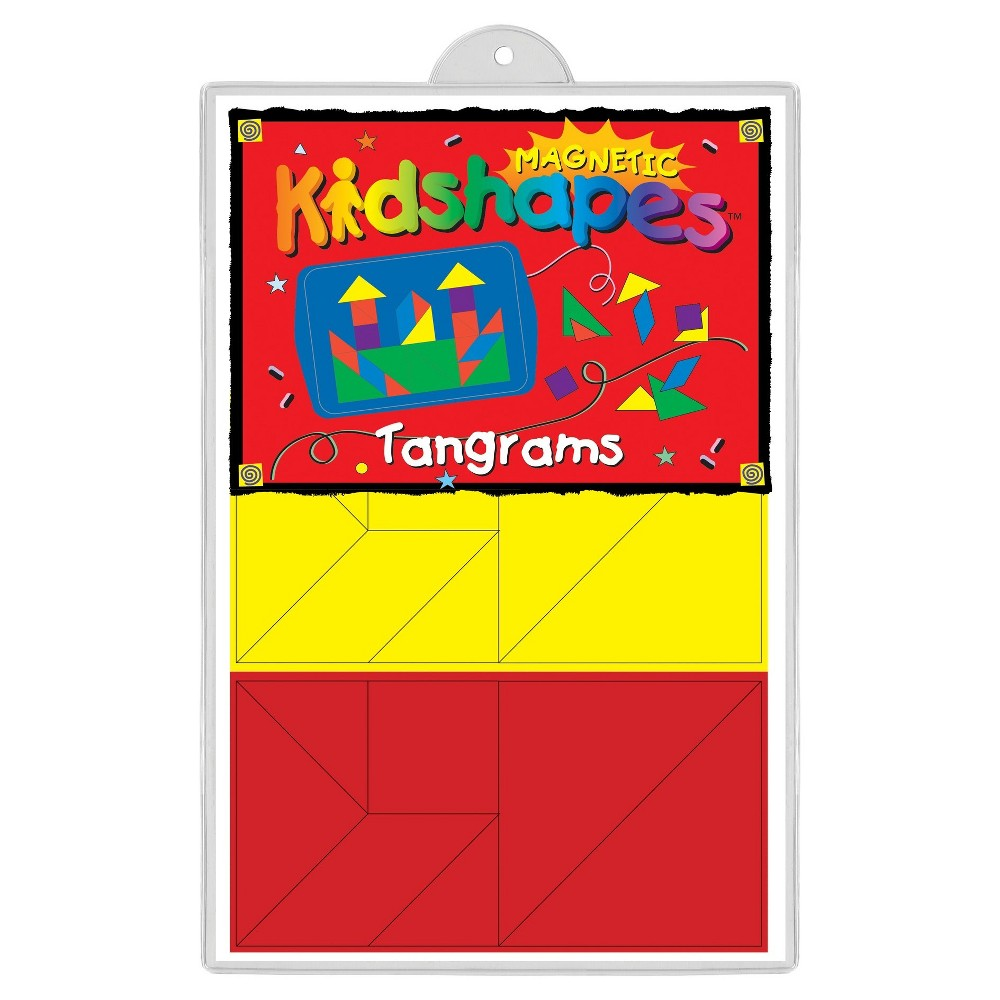 Image of Barker Creek KidShapes Magnets - Tangram