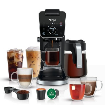 Ninja CFP301 DualBrew Pro Specialty Coffee System, Single-Serve, Pod, and 12-Cup Drip Coffee Maker