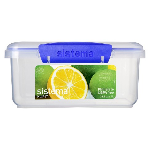 Sistema Klip It 33.8oz Rectangular Container - image 1 of 3