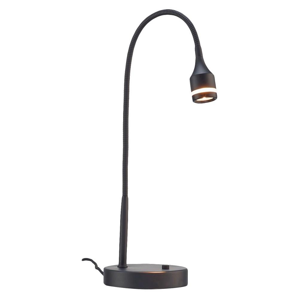 Image of Adesso Prospect Led Desk Lamp - Black