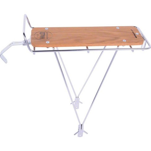 Wald 215 Rear Rack with Wood Slat Silver - image 1 of 1