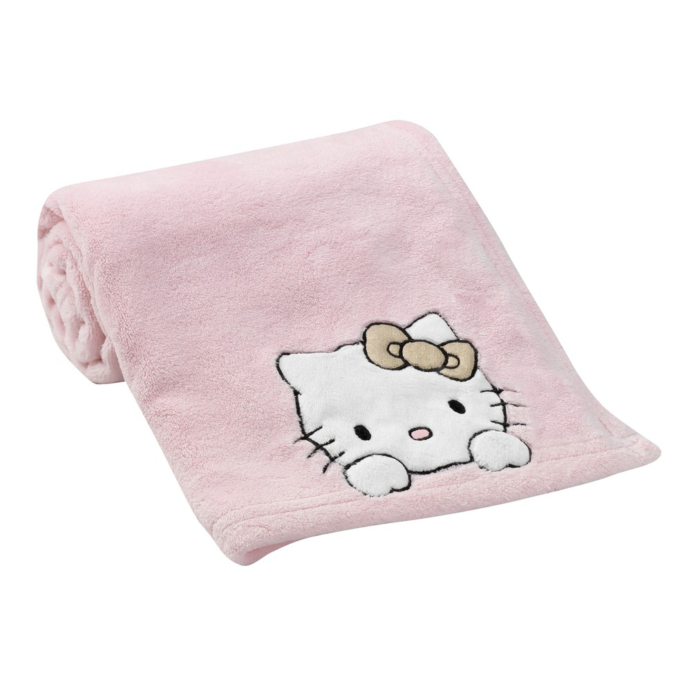 Bedtime Originals Hello Kitty Luv Blanket Pink