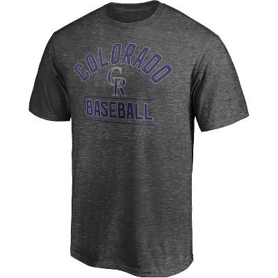 MLB Colorado Rockies Men's Short Sleeve T-Shirt