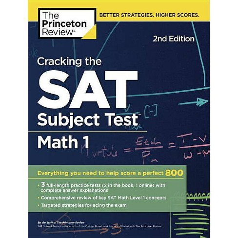 Cracking the SAT Subject Test in Math 1, 2nd Edition - (College Test  Preparation)(Paperback)