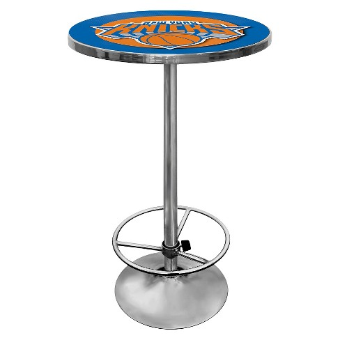 New York Knicks Chrome Pub Table - image 1 of 1