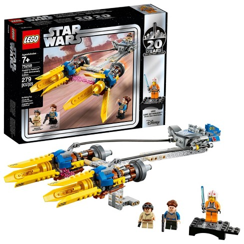 LEGO Star Wars Anakin's Podracer - 20th Anniversary Edition 75258 - image 1 of 4