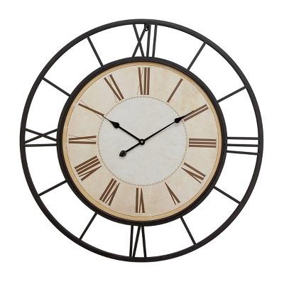 "37"" Traditional Roman Numeral Clock - Olivia & May"