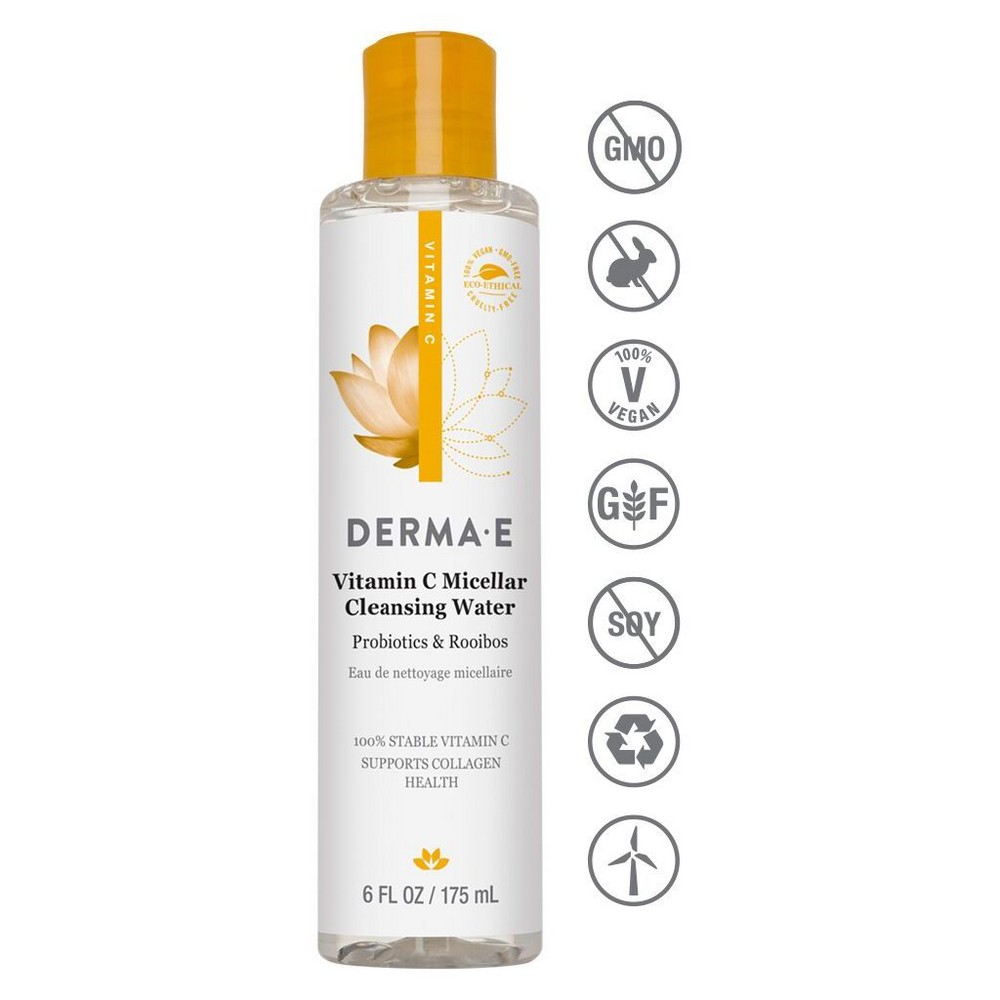 Image of DERMA E Vitamin C Micellar Water - 6oz