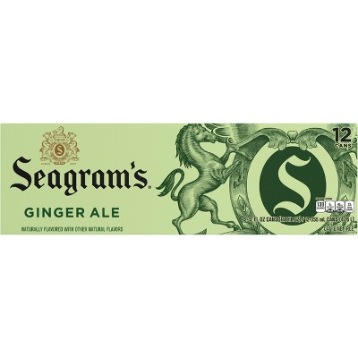 Seagram's Ginger Ale - 12pk/12 fl oz Cans