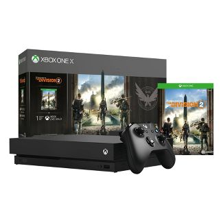 Xbox One X 1TB The Division 2 Bundle