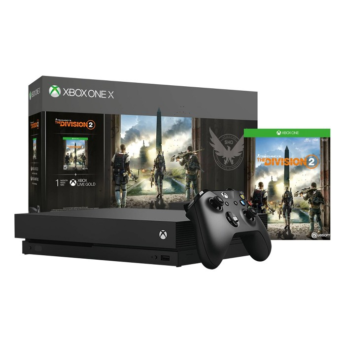 Xbox One X 1TB The Division 2 Bundle - image 1 of 9