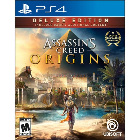 Assassin's Creed Origins: Deluxe Edition - PlayStation 4 - image 1 of 5