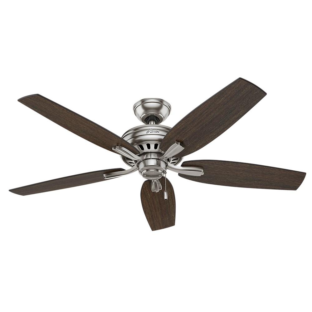 """Image of """"52"""""""" Newsome Ceiling Fan Brushed Nickel - Hunter Fan"""""""