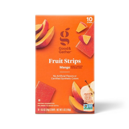Mango Fruit Strips - 5oz/10ct - Good & Gather™ - image 1 of 3