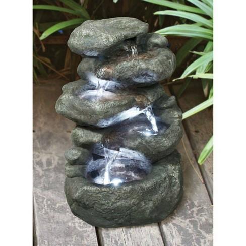 Anchor Falls Cascading Garden Fountain - Acorn Hollow - image 1 of 4