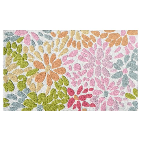 Crazy Daisy Area Rug (3'x5') - The Rug Market - image 1 of 2