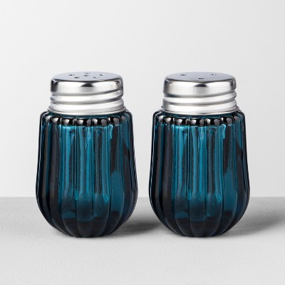 Salt And Pepper Shaker Set - Blue - Hearth & Hand™ with Magnolia