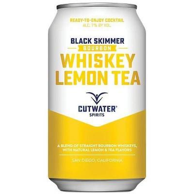 Cutwater Whiskey Lemon Tea Cocktail - 4pk/12 fl oz Cans
