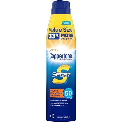 Sunscreen & Tanning: Coppertone Sport