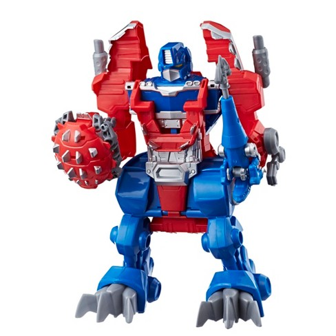 Playskool Heroes Transformers Rescue Bots Knight Watch Optimus Prime - image 1 of 7