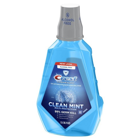 Crest Pro-Health Mouthwash Alcohol Free Clean Mint Multi-Protection - image 1 of 3