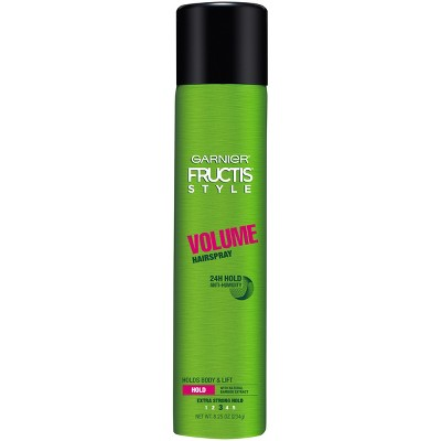 Hair Spray: Garnier Fructis Volume Hairspray