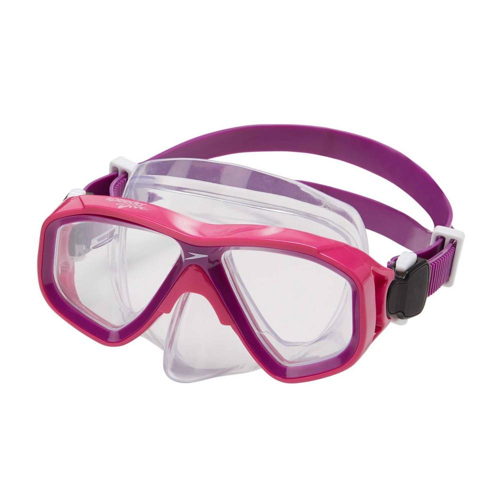 Speedo Kids 39 Surf Gazer Swim Mask Pink Clear
