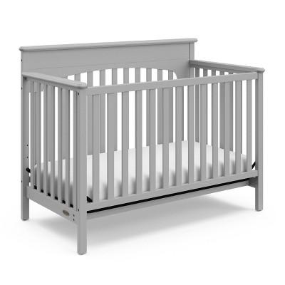 Graco Lauren 4-in-1 Convertible Crib - Pebble Gray