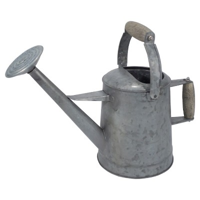 1.5gal Metal Watering Can Galvanized - Threshold™