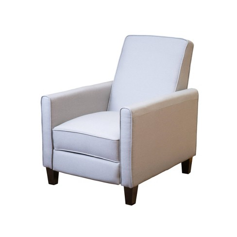 Darvis Fabric Recliner Club Chair Clear, Club Chair Recliner Fabric
