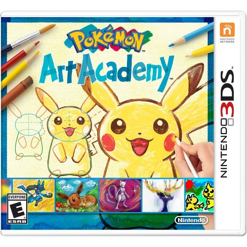 Pokemon Art Academy Nintendo 3DS - image 1 of 6