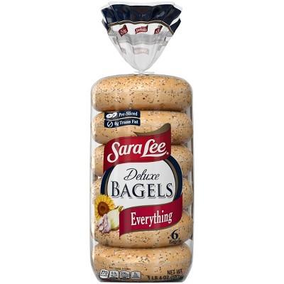 Sara Lee Everything Bagels - 20oz/6ct