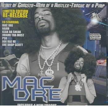Mac Dre - Heart of the Gangsta: Mind of a Hustla (CD)