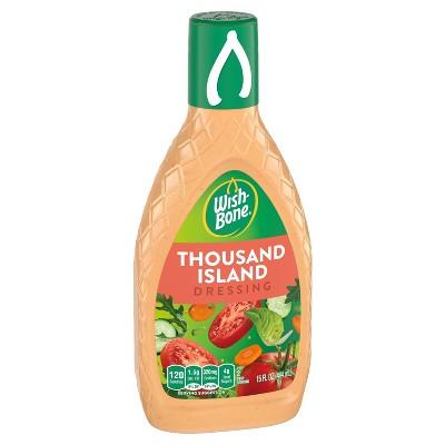 Wish-Bone Thousand Island Salad Dressing - 16fl oz