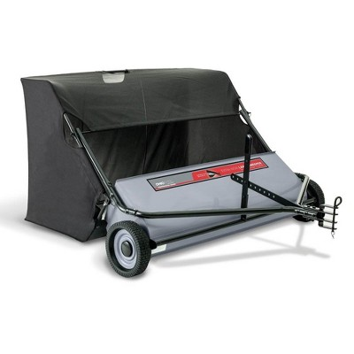 Ohio Steel 50 Inch 26 Cu. Ft. Tow Pull Behind Leaf Yard Lawn Sweeper Collector