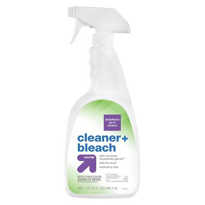Multi-Surface Cleaner: up & up All-Purpose Cleaner with Bleach