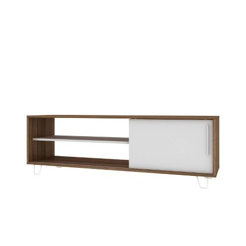 "48"" Boden TV Stand Oak Brown/White - Manhattan Comfort - image 1 of 4"