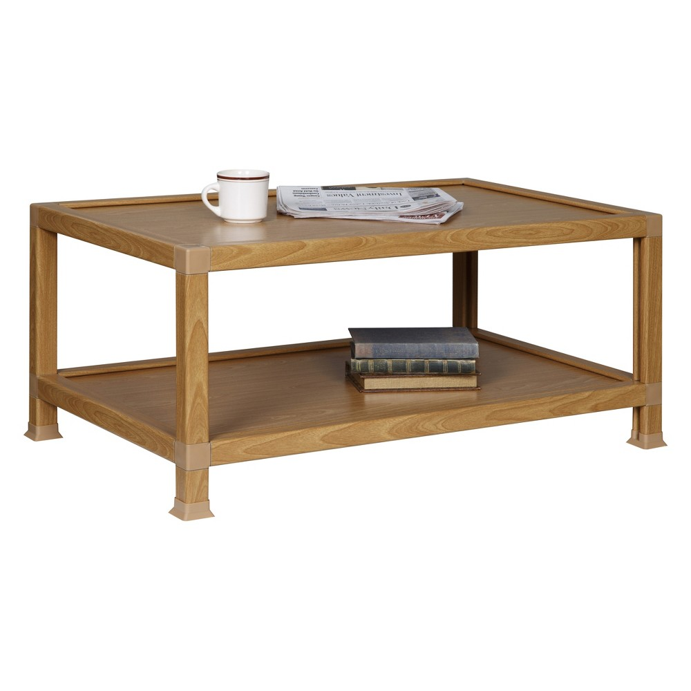 OneSpace Eco 100% Recycled Paper Coffee Table Oak (Brown)