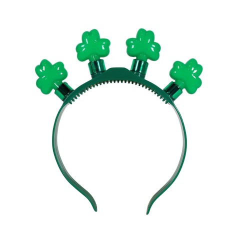 b21ead31f27 St. Patrick s Day Light-Up Headband Green - Spritz™   Target
