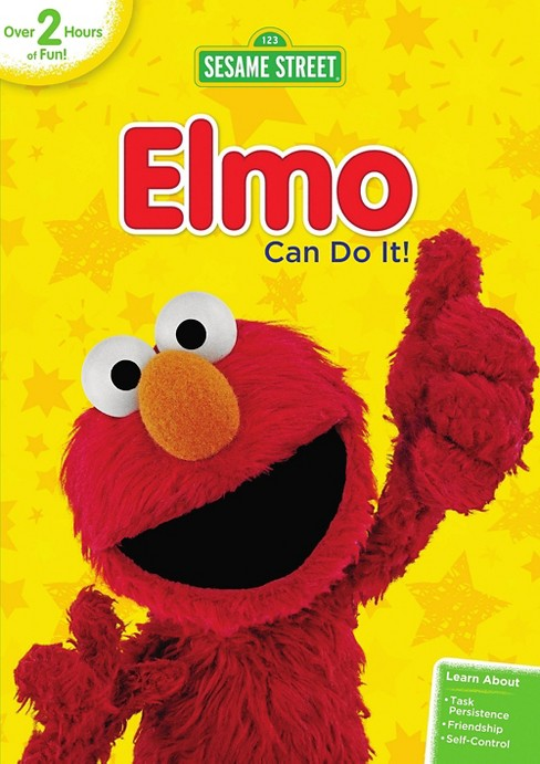 Sesame Street: Elmo Can Do It! (dvd_video) - image 1 of 1